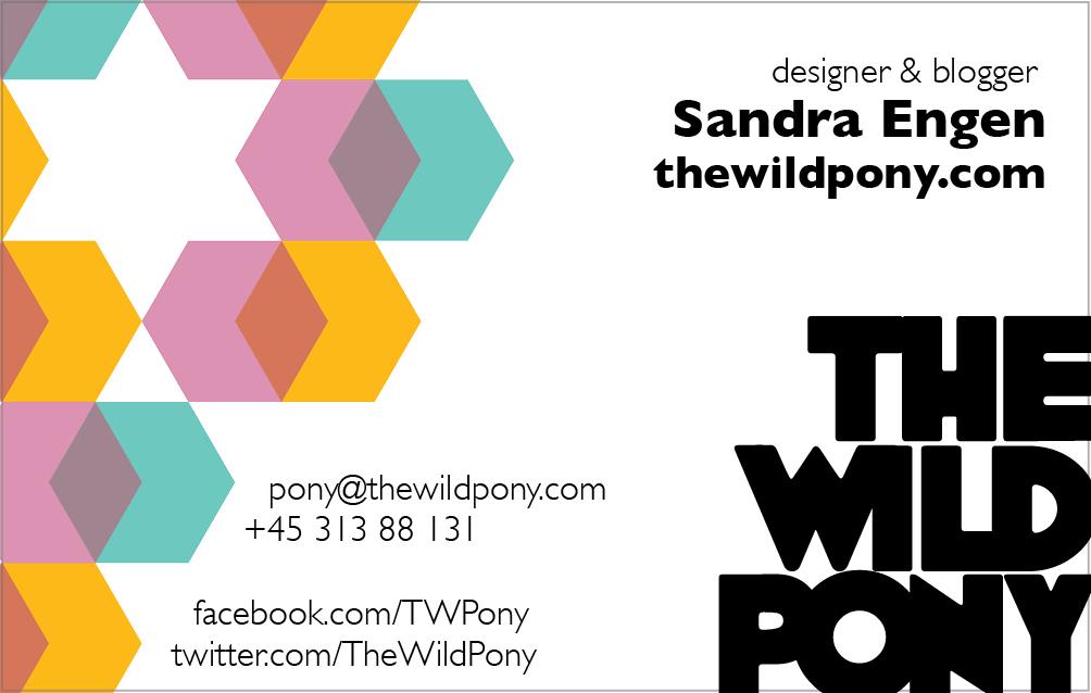 Business Card The Wild Pony