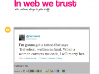 Will you marry me - helvetica